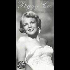 Peggy Lee The Singles Collection 4 CD FACTORY SEALED 2002 ORIGINAL EMI CAPITOL
