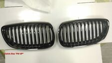 MIT CHROMED PIANO RED FRONT KIDNEY GRILLE BMW E92 E93 3 SERIES  2007-2009