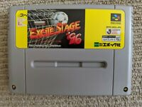 Excite Stage '96 cartridge for Nintendo Super Famicom / SNES (NTSC-J)