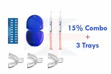 2 MELON Opalescence 15%  teeth tooth whitening kit bleach bleaching gel trays