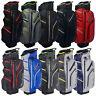 MacGregor MacTec Water Resistant Cart Trolley Golf Bag 14-Way Divider Top