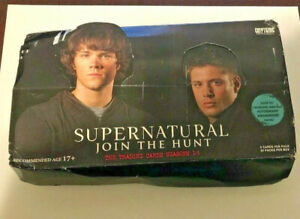 2014 Cryptozoic Supernatural Season 1-3 Join the Hunt large 72 card LOT w/ box