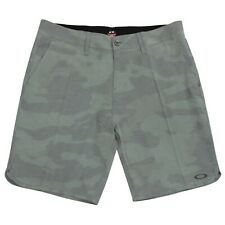 Oakley Crater Amphibian 2 Mens Size 38 Black Camo Beach Boardies Casual Shorts