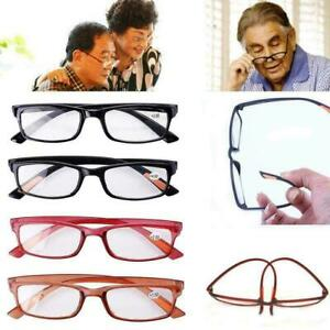 Flexible Reading Glasses Vintage Mens Womens UV Reader Ultra Light Eyewear