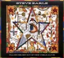 I'll Never Get out of This World Alive 0607396619528 by Steve Earle CD