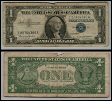 1957B United States $1 Silver Certificate Note Circulated Lt-=-=0159