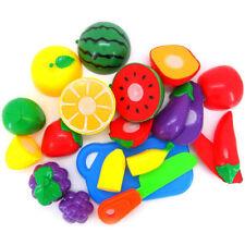frutas cocina y VERDURAS ALIMENTOS FALSO reusable nuevo juego de imitación