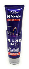 L'Oreal Elseve PURPLE MASK Anti - yellow & Orange Effect