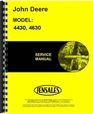 John Deere 4430 4630Tractor Service Manual (Jd-S-Tm1172)