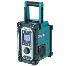 Makita DMR107 Portable Black Turquoise Radio DMR107
