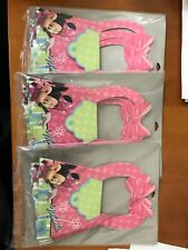 Minnie Mouse Bowtique Treat Loot Bags Party Favor Boxes (12 bags Per Lot)