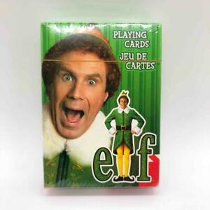 New/Sealed Pack of Buddy the ELF Movie Playing Cards Christmas New Line Holiday