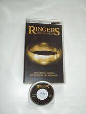 UMD VIDEO POUR PSP - RINGERS LORD OF THE FANS - BON ETAT