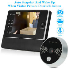 3.5'' LCD Video Digital Door Monitor Peephole Doorbell IR Camera Viewer