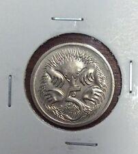 1995 5 cent  unc coin