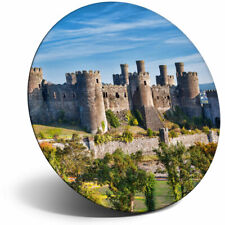 Awesome Fridge Magnet - Welsh Conwy Castle Wales Cool Gift #16376