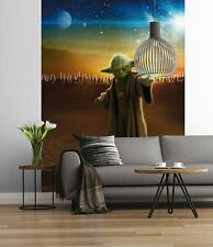 Master Yoda Star Wars bedroom wall mural in large size FREE delivery + adhesive