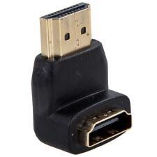 Adaptateur HDMI COUDE 90 a Angle au-dessus Coupleur male en Femelle Cable P R2W3