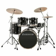 Ludwig Element Evolution 5-piece Complete Drum Set With Zildjian I Cymbals - 20""