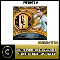 2019/20 PANINI GOLD STANDARD SOCCER 6 BOX HALF CASE BREAK #S080 - RANDOM TEAMS -