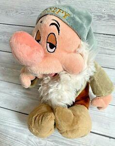 Disney Store Snow White And The Seven Dwarves Sleepy Plush Soft Toy Dwarf