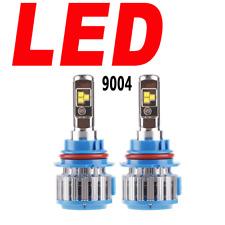 2X LED Headlight Bulb Dual Beam 6000K Super White Cree T 9004 HiLo/9004 Bi-Xenon