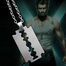 X-Men Wolverine James Logan Army Military Metal Pendant Chain Dog Tag Necklace