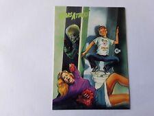 1994 Topps Mars Attacks Base Card (#75) Zina Saunders Flip Cover #4