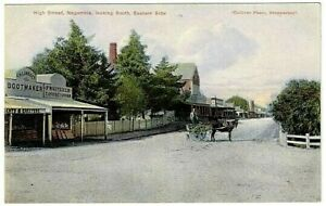 High Street, Nagambie, looking South, Eastern Side - Postcard
