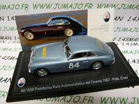 MAS34S voiture 1/43 LEO models MASERATI A6 1500 Rallye du Cinéma 1957 Pola Croci
