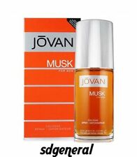 Jovan Musk Cologne by Coty 3 oz / 88 ml Cologne Spray For Men NEW IN BOX