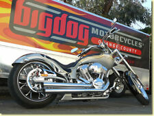 BIG DOG MOTORCYCLES SUPERTRAPP SLIP-ON MUFFLERS HIGH PERFORMANCE MEAN MOTHERS