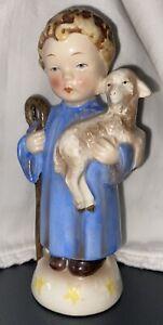 "Goebel Porcelain Shepherd Boy HC 32. 5 3/4"" H. Perfect"