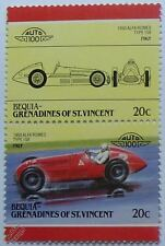 1950 ALFA ROMEO 158 Car Stamps (Leaders of the World / Auto 100)