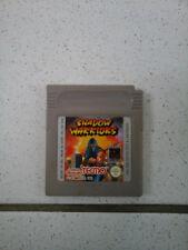 Shadow Warriors  Game Boy FAH RARE