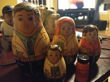 Russian Nesting Doll Physicians Doctors Nurse 5 Pc