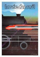 CP TRAIN TGV  ILLUSTRATION PIERRE FIX MASSEAU La vie du rail