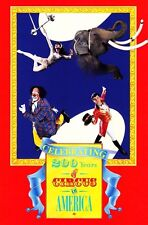 Usps First Day Ceremony Program #2753a Circus 200 Years Ringling Bros. Fdoi 1993