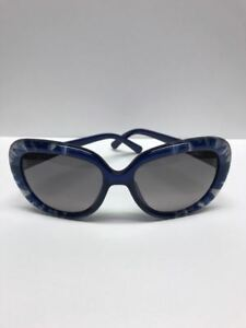 DIOR TieDye1 98MEU Blue Clear Opal Sunglasses Made in Italy Authentic