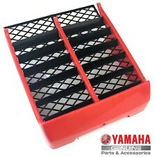 NEW OEM YAMAHA BANSHEE YFZ350 RADIATOR COVER GRILL FRONT PANEL RED 1987 2006
