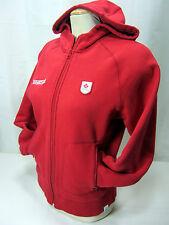 Hudson Bay Co.Canada  2006 Olympic Red Women's M Full Zip Hoodie Fleece Lined