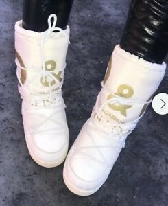 Designer D&G Dolce & Gabbana Junior Snow Boots EU 41 / 42 - UK size 7/8 Winter