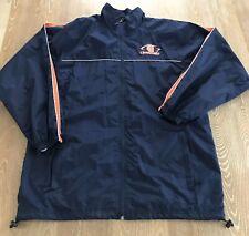 Vintage Syracuse University Orangemen Zip Front Starter Jacket Blue Size L