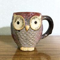 Owl Coffee Mug Large 20oz Ceramic Figural Fall Autumn Halloween Thanksgiving