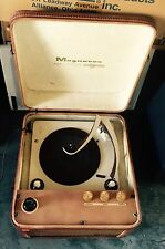 Vintage Magnavox High-Fidelity Record Player
