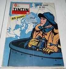 TINTIN 24/09 1959 N°570 HERGE TIBET CAP CANAVERAL POLE NAUTILUS FRANQUIN CANADA