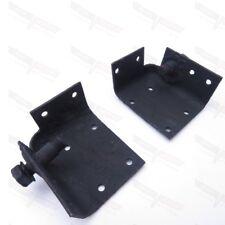 Corvette OEM Inner Seat Belt Mounting Plate Reinforcement Pair 1965-1969