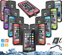 "USA 6.6"" Fully Sealed Waterproof Protective Case For Apple  iphone 6s Plus Covre"