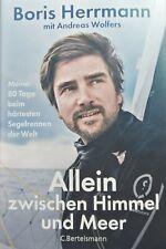 Allein Zwischen Himmel Und Meer Boris Herrmann Gebundene Ausgabe Gebraucht 1A
