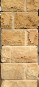 Yorkshire stone walling approx 4.5 m2 genuine beautiful York building stone